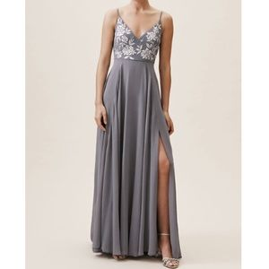 BHLDN Sadia Bridesmaid's Dress, Hydrangea, 12
